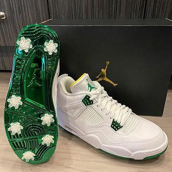 Jordan 4 Masters Golf Shoes