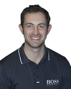 Patrick Cantlay wears FootJoy DryJoys Tour golf shoes