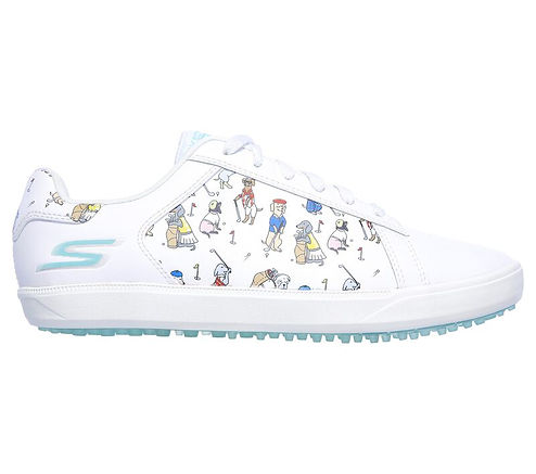 Skechers Women's GO GOLF Drive 4 - Dogs At Play Golf Shoe