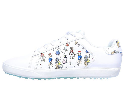 Skechers Women's GO GOLF Drive 4 - Dogs At Play Golf Shoes