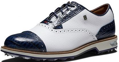 FootJoy DryJoys Premiere Max Homa golf shoes