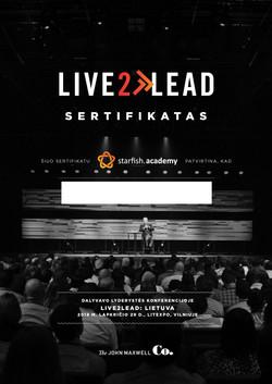 L2L Sertifikatas-diplomas 2018