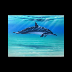Lesson 10: Painting Underwater Shallow Dolphins