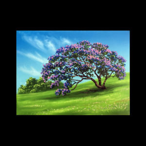 Lesson 7: Painting Jacaranda Trees
