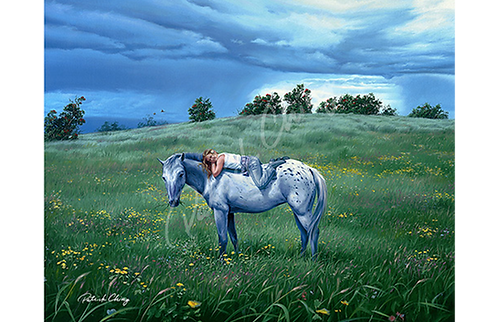 Cowgirl Blue