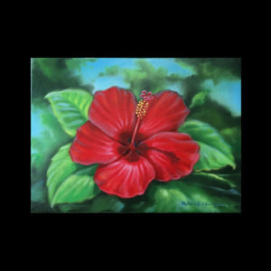 Lesson 13: Painting Red Hibiscus