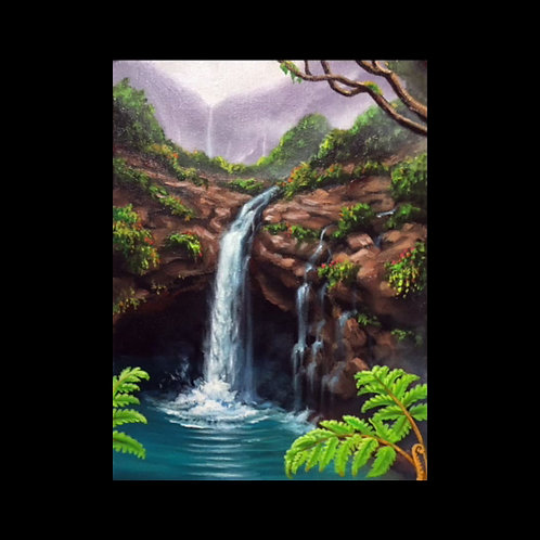 Lesson 21: Painting Waterfalls