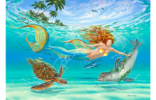 Hawaiian Mermaid