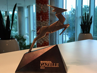 Exerp is awarded Gazelle for growth