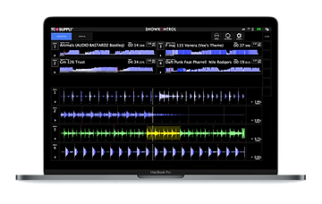 ShowKontrol waveforms screen