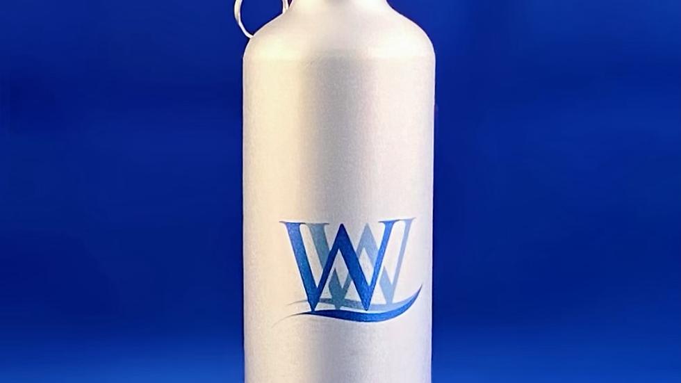 800ml - 1 x Reusable Metallic Bottle ♻️ 🌍