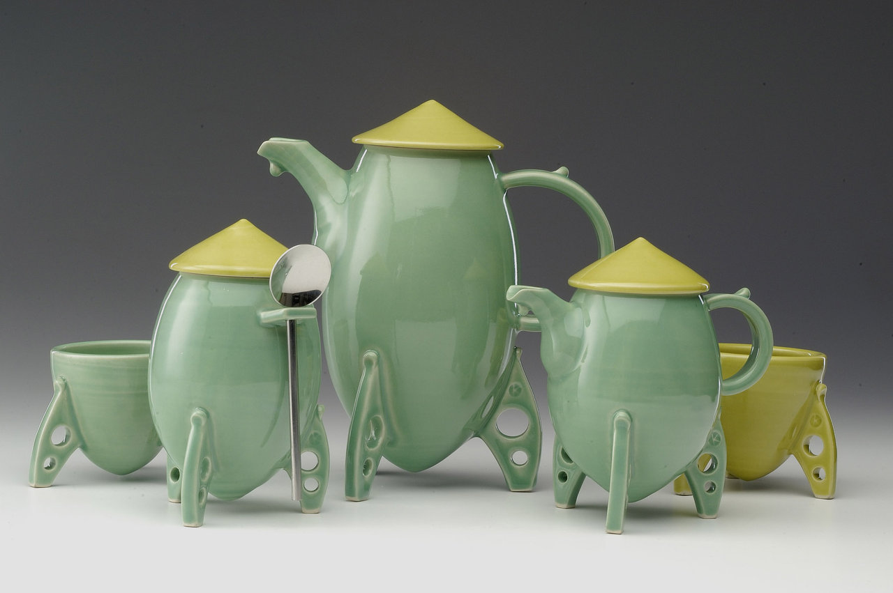 Rocket Tea Set