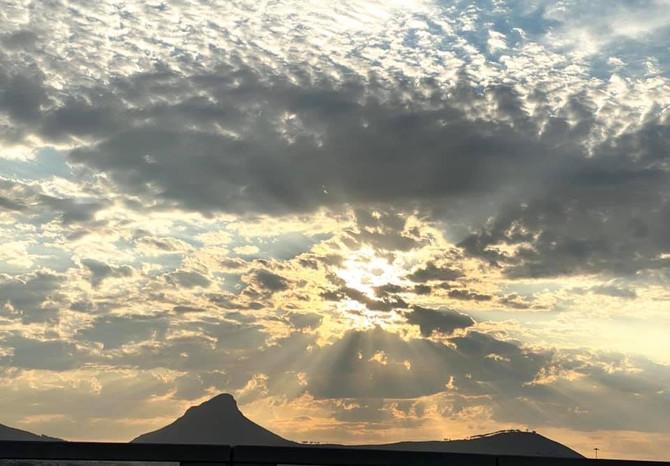 Powerful Sky: 南アフリカの神がかりな空