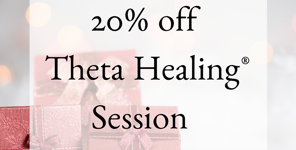 20% off Theta Healing® with Rose