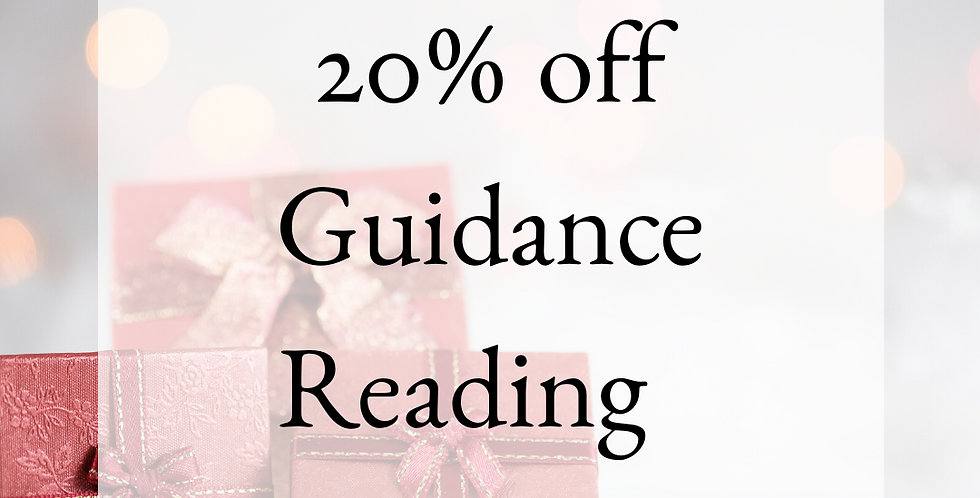 20% off Guidance Reading with Rose