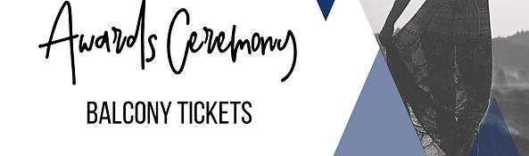 Balcony Seats - Awards Ceremony