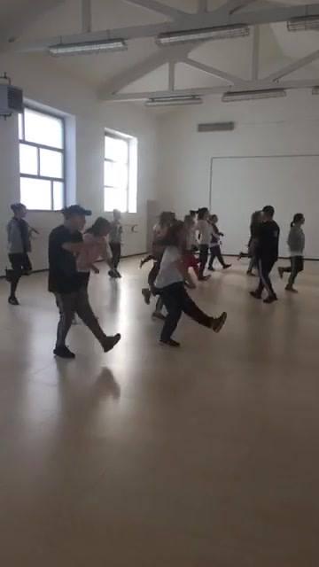 Lezione hip hop avanzato con Simone Ginanneschi!
