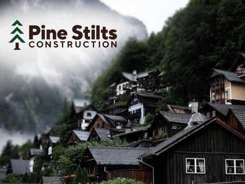 PINE STILTS CONSTRUCTION