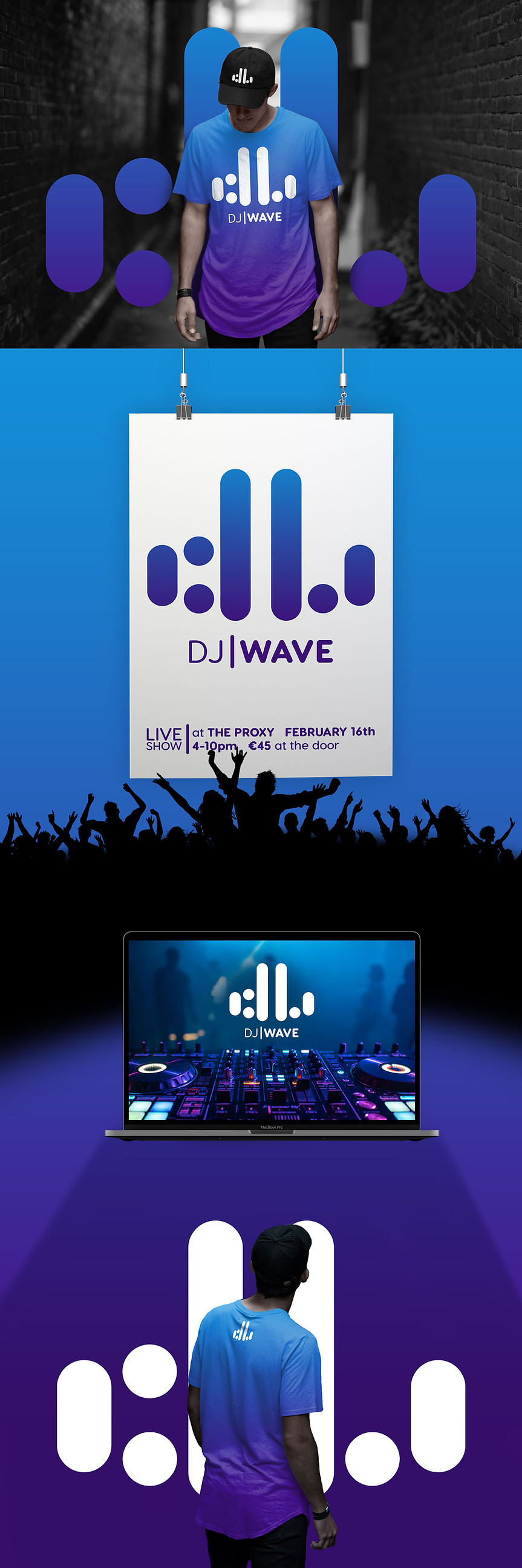 DJ Wave Collateral Material