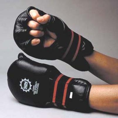 Sparring/Grappling Gloves - Black