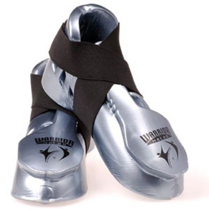 Feet Pads - Macho Warrior Kick - SILVER