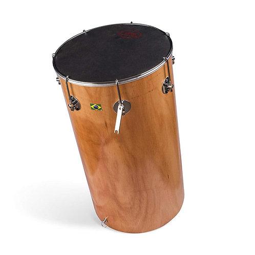 Tantan - Brasilian African Hard Natural Wood Shell Leather Head Drum