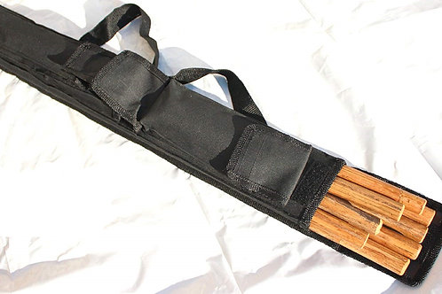 Escrima/Short Stick Case (2.5 Ft) - Kali/Arnis/Escrima Bag - Black, Blue or Red