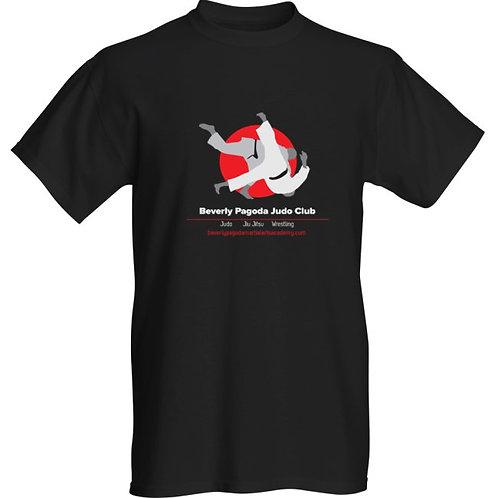 Judo/Jiu Jitsu/Grappling Club T-Shirt - Black