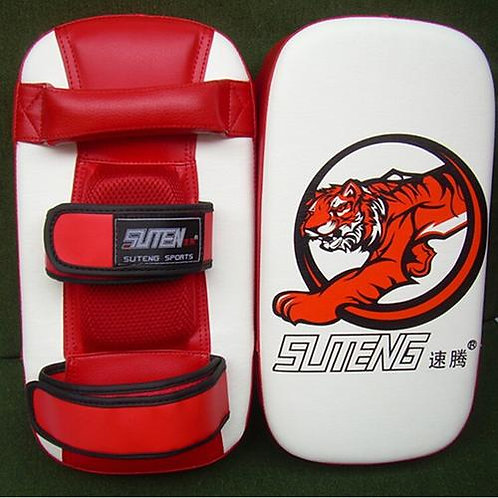 Kick Boxing Training Pad & Foot Target Mitt Sparring Pad - Red, Black or Blue