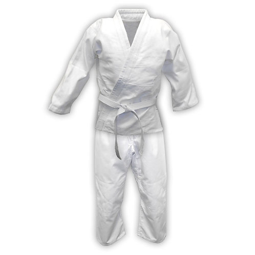 Aikido / Judo Uniform (Gi) - Single Weave White, Blue or Black