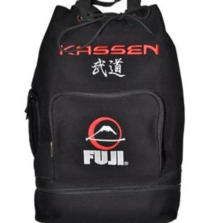 Fuji Sport Backpack - Grappling Gear - Black, Pink, Purple