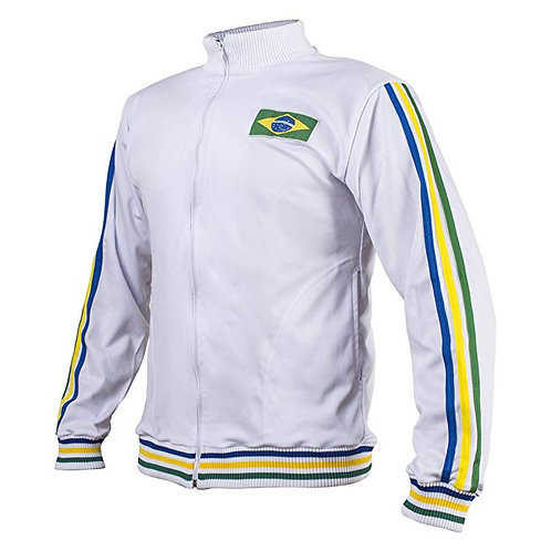 Capoeira Jacket Top - Black, White
