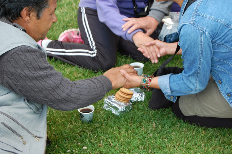 Prayer with and for the homeless
