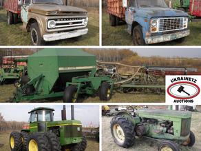Online Farm Auction for Gary Witzko
