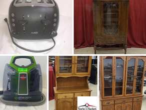 Moving Online Auction for June Rieger & Guest Consignors