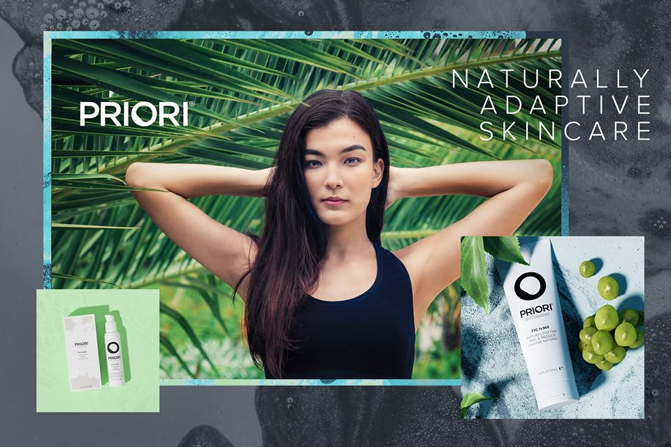 Lifestyle Images for Priori Skincare