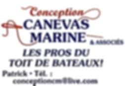 Toiles Bateau Conception canevas Marine