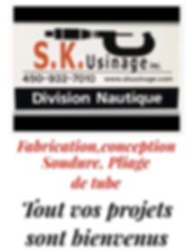 soudure S.K. Usinage