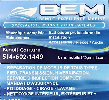 Esthétique bateau Benoit Couture
