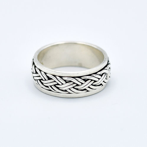 SILVER SPINNER KNOT