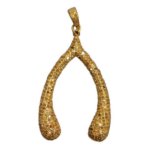 DIAMOND GOLD WISHBONE