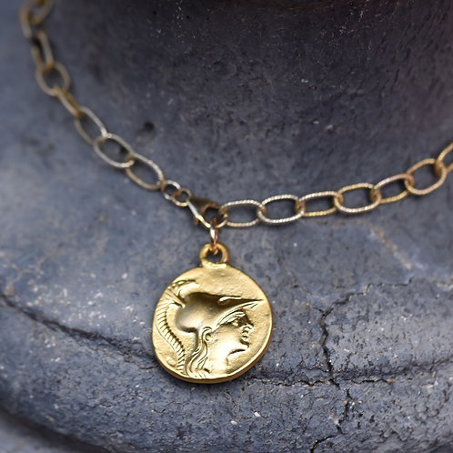 GOLD COIN NECKLACE #4