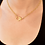 Thumbnail: SMALL LINK GOLD CABLE CHAIN W/ DIAMOND LOBSTER CLAW