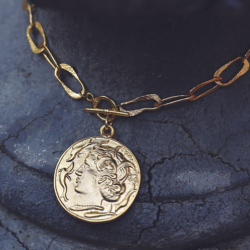 GOLD COIN NECKLACE #3