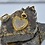 Thumbnail: ALL DIAMOND GOLD VERMEIL SPIKED HEART PENDANT