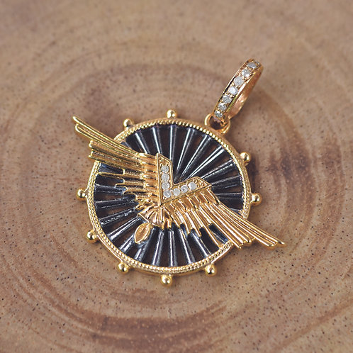 DIAMOND MIX METAL WING
