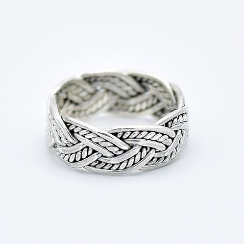 SILVER ROPE & KNOT