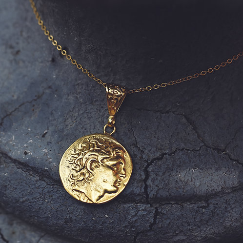GOLD COIN NECKLACE #2