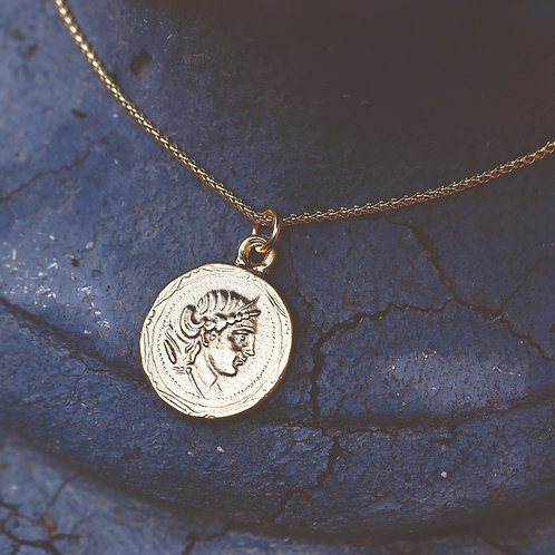 GOLD COIN NECKLACE #1