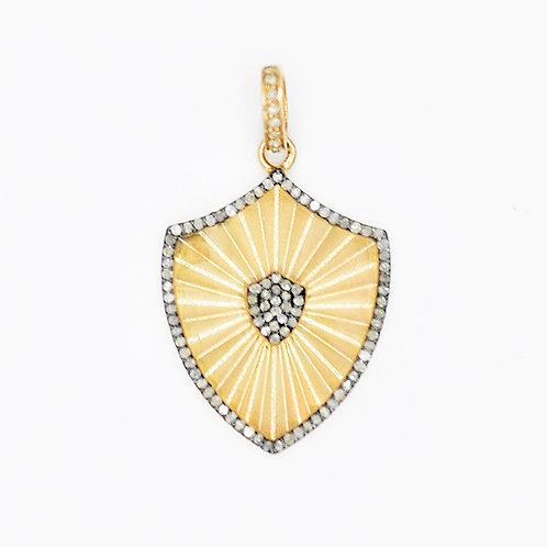 DIAMOND GOLD SHIELD